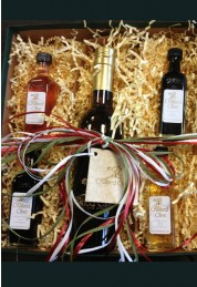 Gift Box: 375mL Bottle & 4 Samplers
