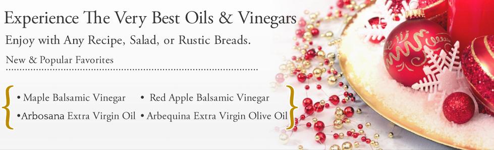 Gourmet Olive Oils and Balsamic Vinegars